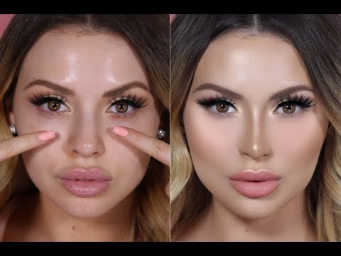 Faking a Nose Job with Contouring Before and After