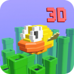 Flappy Bird 3D game cover image