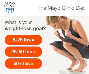 """Mayo Clinic Diet """"What is Your Weight Loss Goal?"""""""
