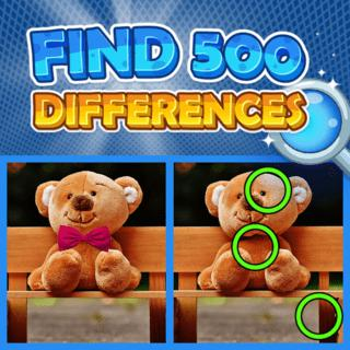 Find 500 Differences game cover image
