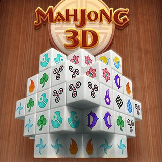 Mahjong 3D game cover image