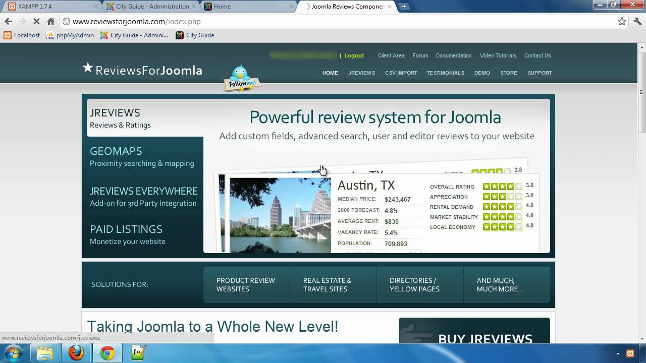 Building a City Guide website with JReviews - Part 2: Installing iReview template